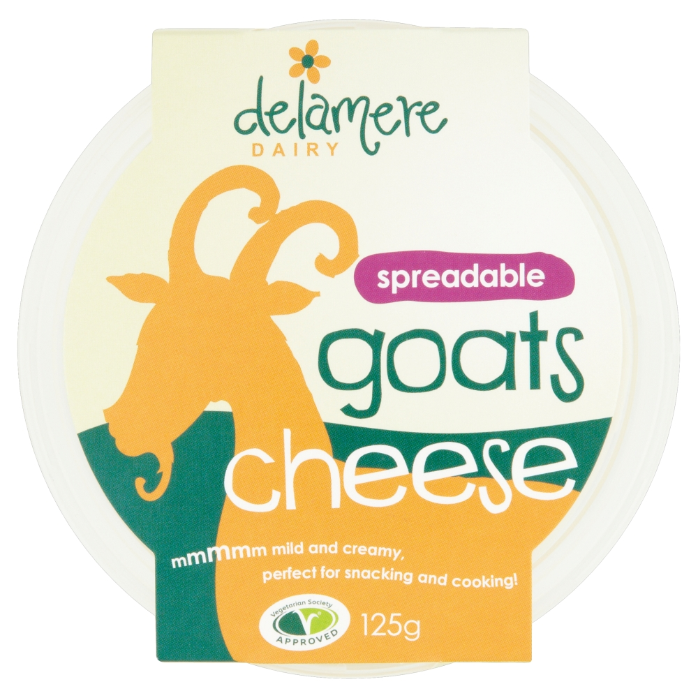 Delamere Dairy Spreadable Goats Cheese