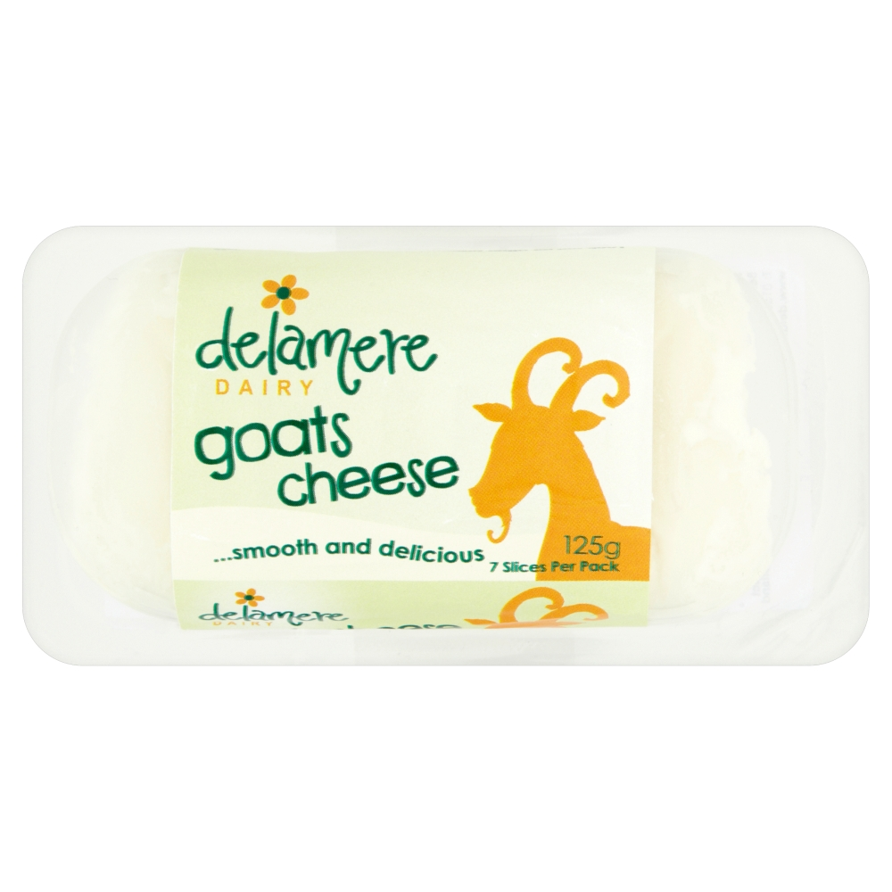 Delamere Dairy Plain Goats Cheese Log