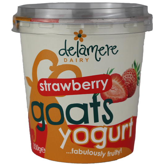 Delamere Dairy Strawberry Goats Yogurt
