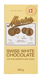 Menier Swiss White Cooking Chocolate