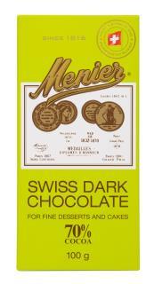 Menier Swiss 70% Dark Cooking Chocolate