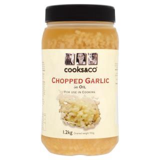 Chopped Garlic in Oil