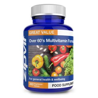 Zipvit Multivitamin Over-60's Formula