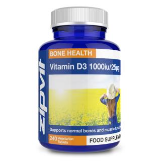 Vitamin D3 1,000iu 25mcg