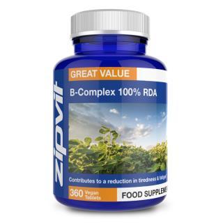Vitamin B Complex 100% RDA 360 tablets