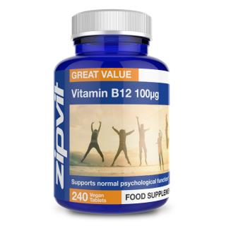 Vitamin B12 100mcg 240 tablets