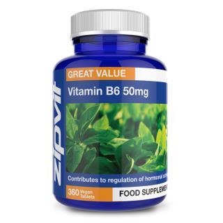 Vitamin B6 50mg 360 tablets