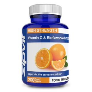 Vitamin C 1000mg with bioflavanoids 200 tablets