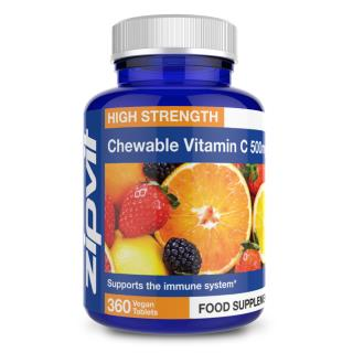 Vitamin C 500mg Chewable 360 tablets