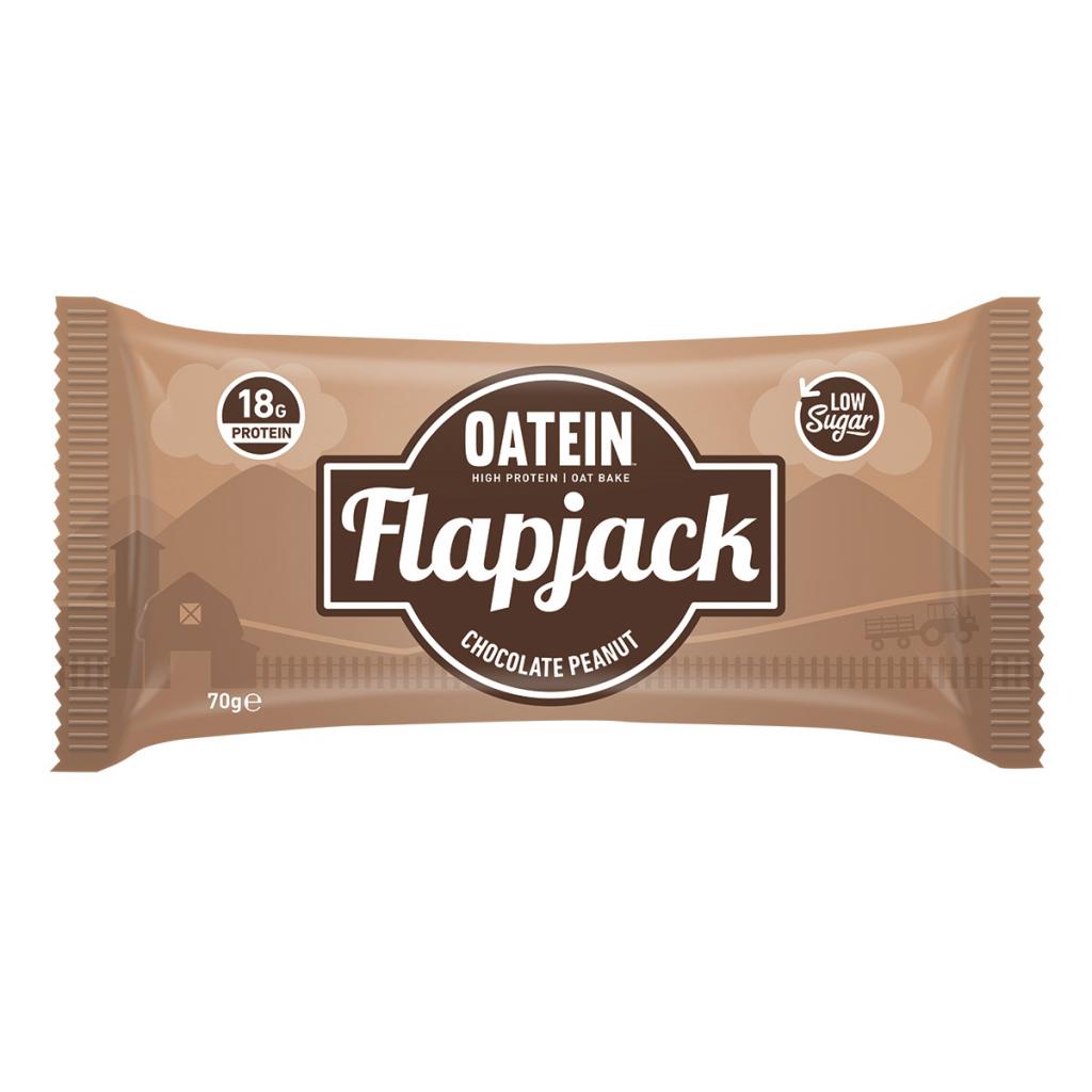Oatein Flapjack – Chocolate Peanut Flavour