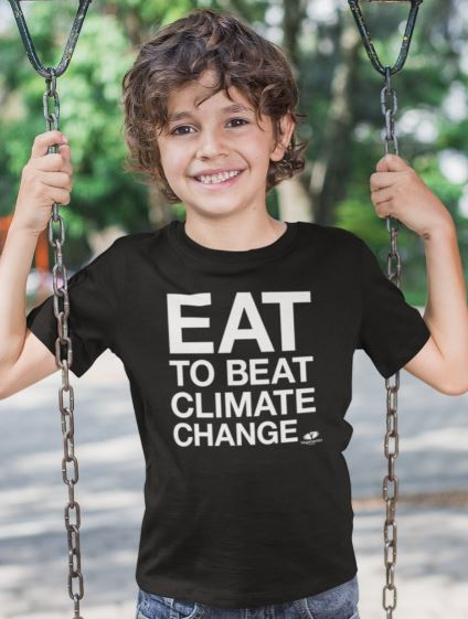 Eat to Beat Climate Change Kids' T-shirt