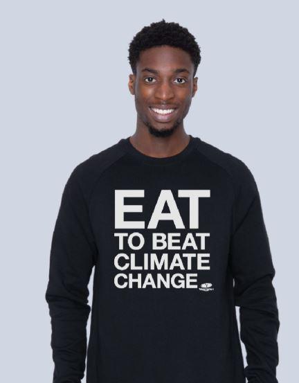 Eat to Beat Climate Change Sweatshirt