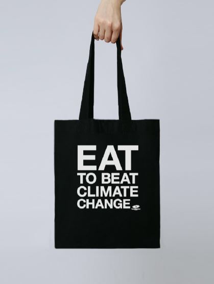 Eat to Beat Climate Change Tote Bag