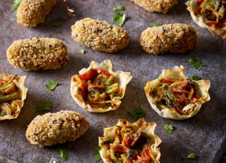 Supermarket Sweep:  the ultimate meat-free Christmas