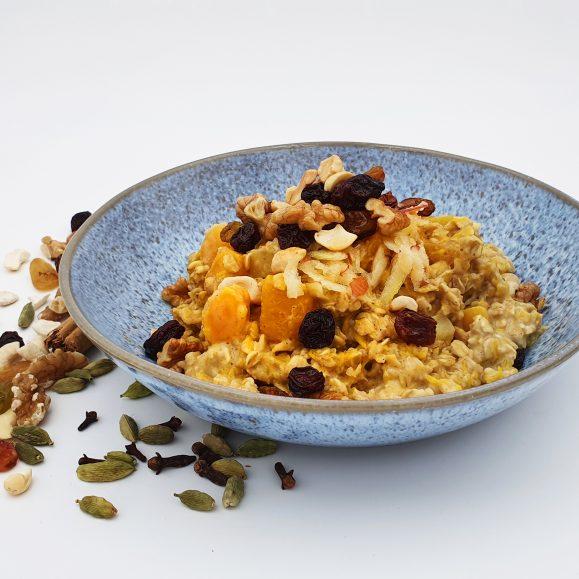 Creamy Spiced Pumpkin and Apple Porridge