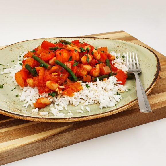 Spanish-Style Stew with Rice