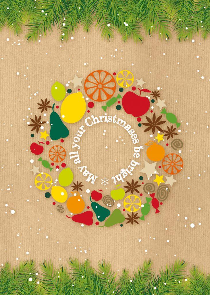Christmas Cards – Christmas Wreath