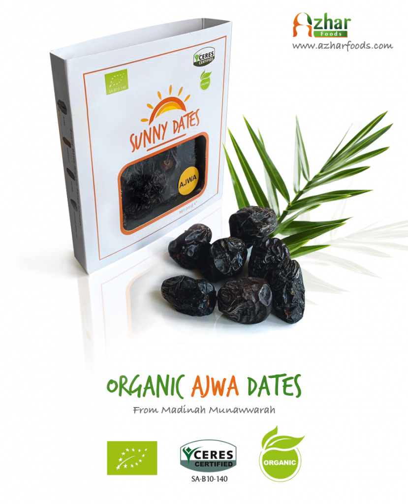 Organic Ajwa Dates from Saudi Arabia