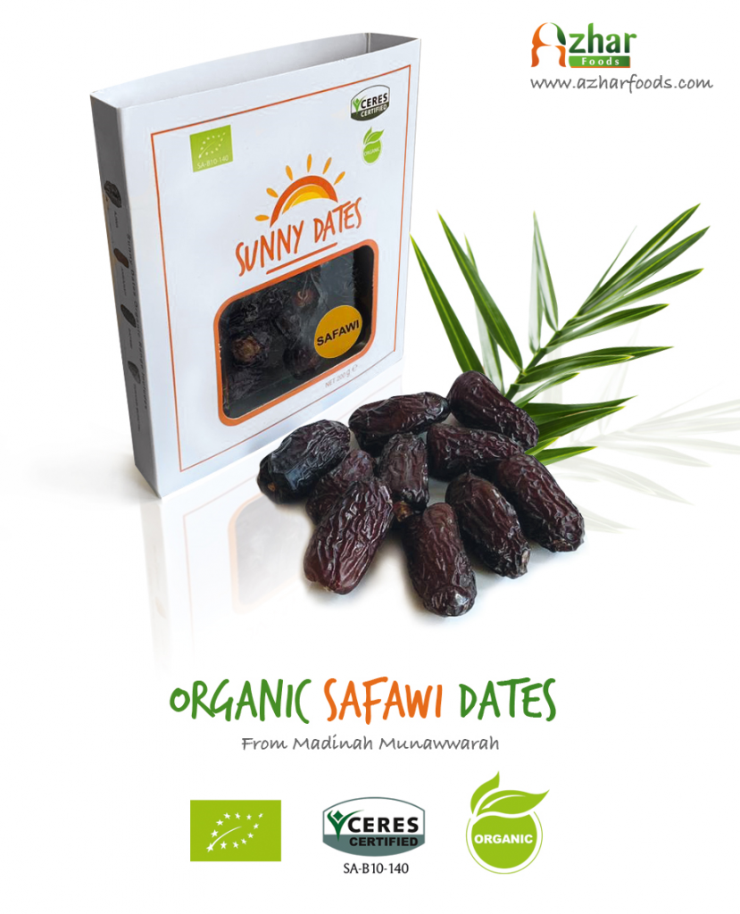 Organic Safawi Dates from Saudi Arabia