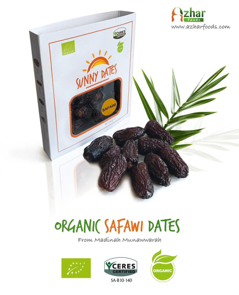 Organic Safawi Dates from Saudi Arabia