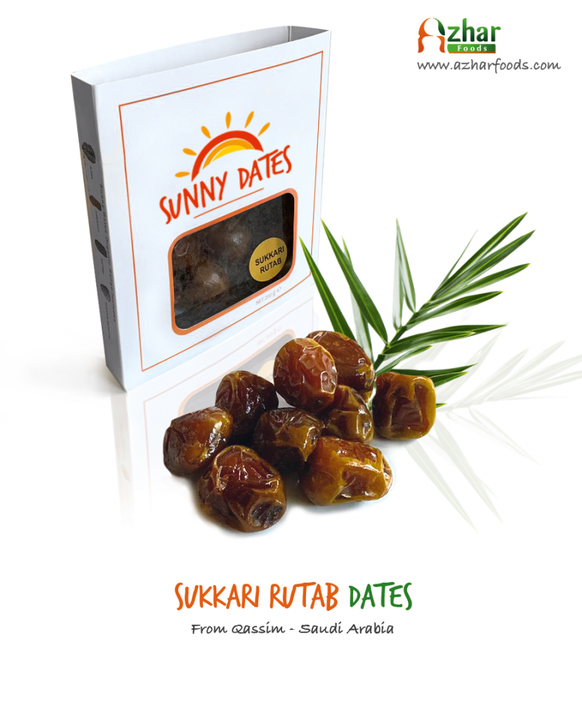 Sukkari Rutab Dates from Saudi Arabia