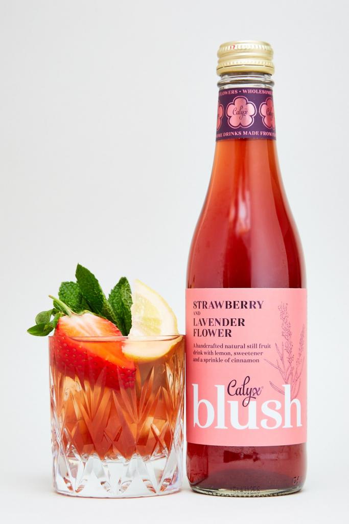 Blush – Strawberry and Lavender Flower