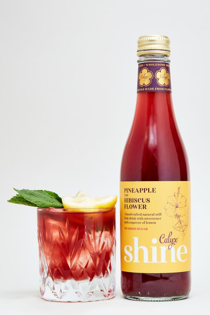 Shine – Pineapple and Hibiscus Flower