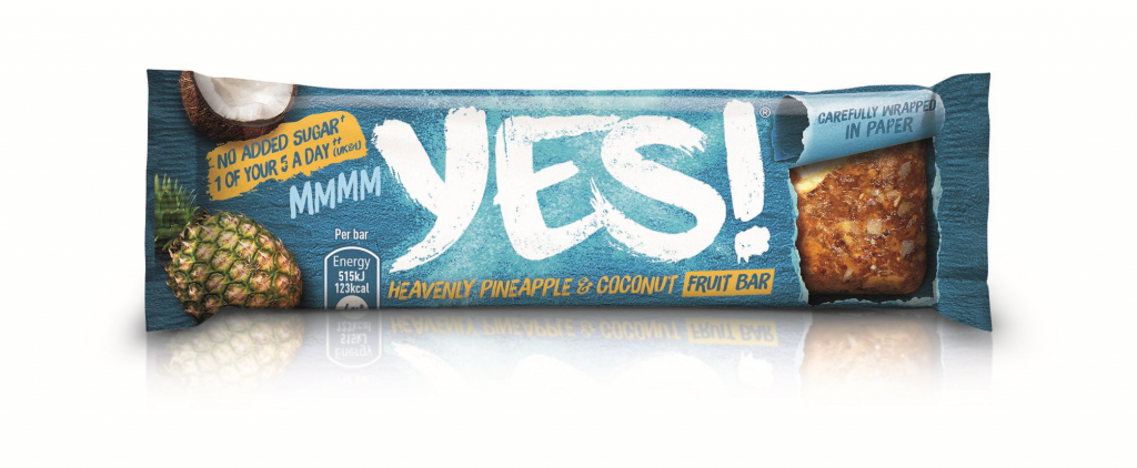 YES! Pineapple and Cocounut Fruit Bar