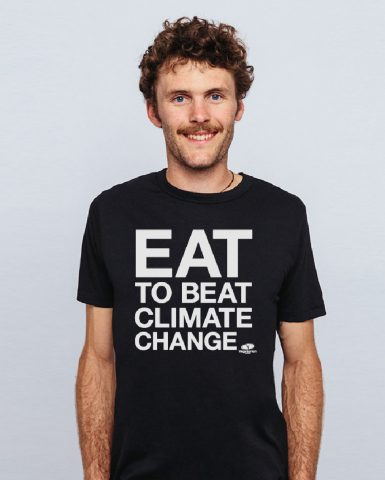 Wear the <br> t-shirt