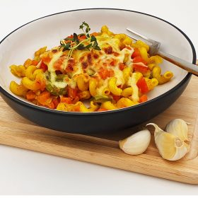 One-Pot Spirali Pasta with Curry Spice