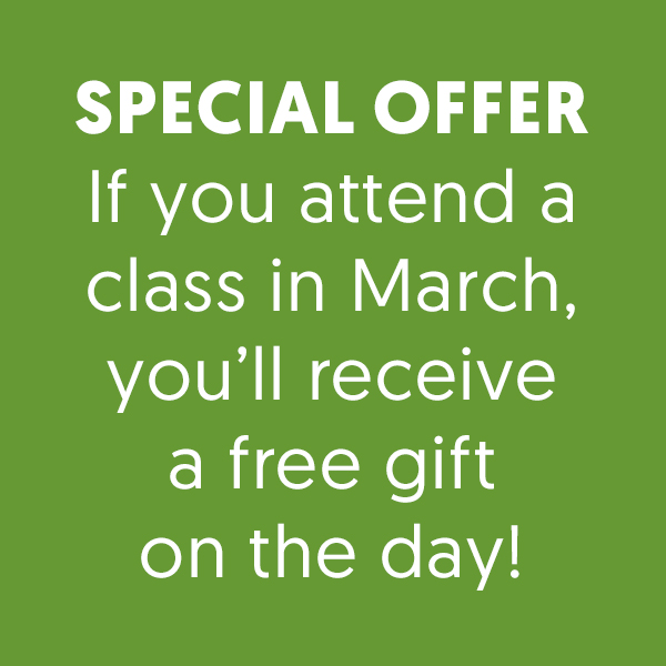 *Free gift* in March