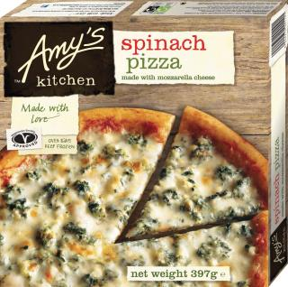 Amy's Kitchen Spinach Pizza UK