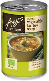 Amy's Kitchen Vegetable Barley Soup