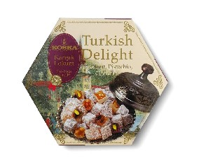 Coconut & Hazelnut & Pistachio Turkish Delight