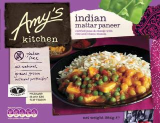 Amy's Kitchen Mattar Paneer