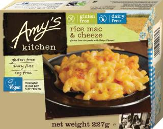 Amy's Kitchen Gluten Free  Dairy Free Rice Mac & Cheese
