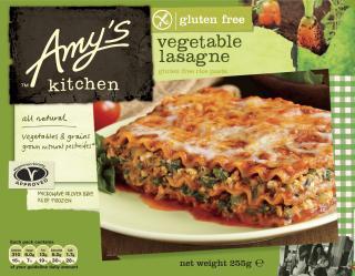 Amy's Kitchen Gluten Free Vegetable Lasagne