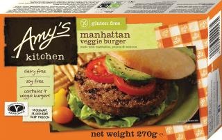 Amy's Kitchen Gluten Free Manhattan Burger