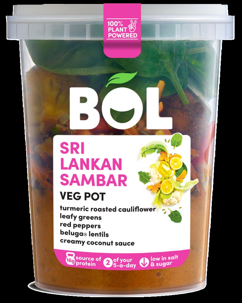 BOL Sri Lankan Sambar Veg Pot