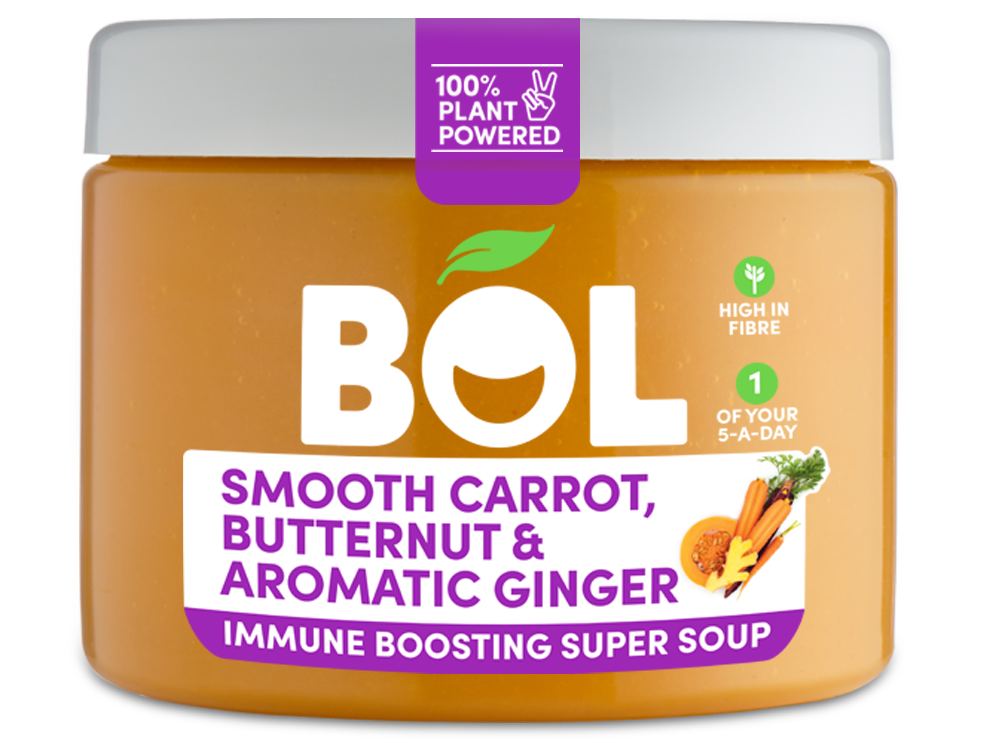 BOL Smooth Carrot, Butternut & Aromatic Ginger Immune Boosting Super Soup