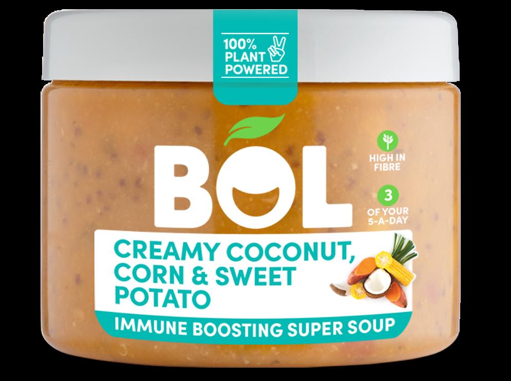 BOL Creamy Coconut, Corn & Sweet Potato Immune Boosting Super Soup