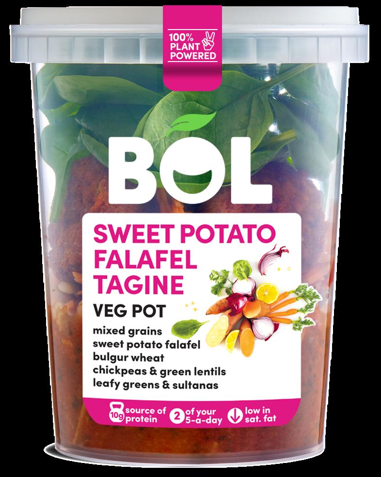 BOL Sweet Potato Falafel Tagine Veg Pot