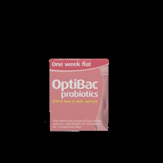 Optibac Probiotics One Week Flat