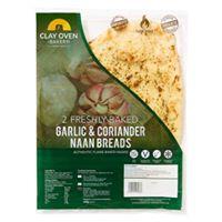 Garlic & Coriander Naan Breads