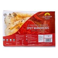 Spicy Naan Breads