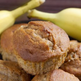 Banana Chickpea Mini-Muffins
