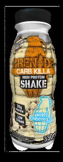 Carb Killa Shakes – White Chocolate 330ml and 500ml