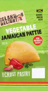 Island Delight Vegetable Short Crust Pattie