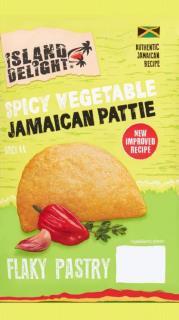 Island Delight Spicy Vegetable Flaky Pasty Pattie