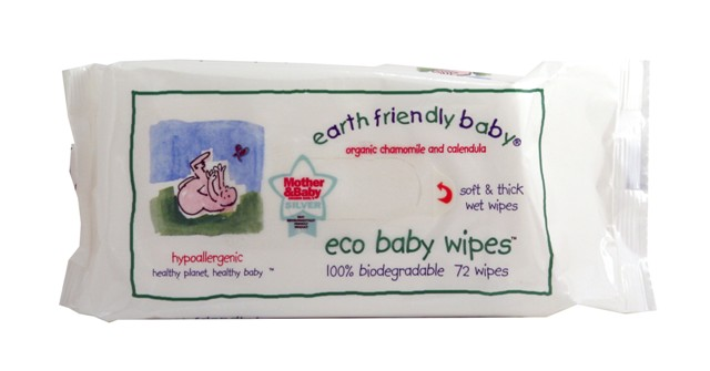 Earth Frienfly Baby Gentle Aloe Vera Wet Wipes